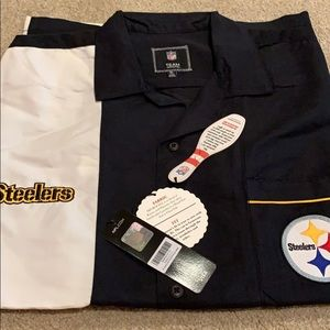 los angeles 6d93d e2950 Pittsburgh Steelers bowling shirt. XL. NWT NWT